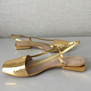 9d81b5008d45 Tory Burch Shoes - Tory Burch  Pietra  Mirrored Leather Sandals
